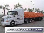 transporte de carga a nivel nacional y local