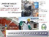 lavado y desinfección de tanques y cisternas