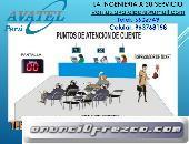 Sistema de Atencion de Turnos con Software Avatel