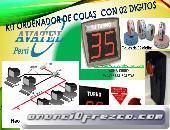 KIT ORDENADOR DE COLAS ELECTRÓNICAS CON 02 DIGITOS 5632749 AVATEL PERU SAC