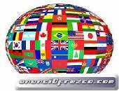 Traductor inglés, portugués, francés e italiano al español
