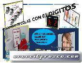 PANTALLAS DE TURNO DE FILAS CON 03 DIGITOS