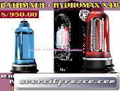 Potente bomba hydromax X40 aumenta el pene Tlf. 4724566 - 994570256