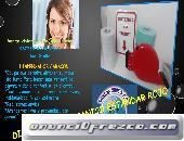 DISPENSADOR MECANICO ROJO