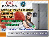 Mantenimiento Correctivo de Refrigeradoras (Daewoo) en Surquillo