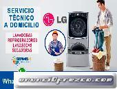 Reparaciones LG (Secadoras) 998-722262  en Ate