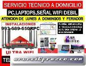 Tecnico de Pc,internet wifi,laptops,a domicilio