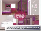 Mueble Para Dormitorio F&S Amoblados