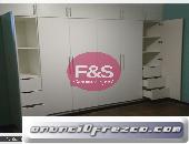 Closet en melamina, F&S Amoblados