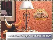 ESCARCHADOS DECORATIVOS TEXTURAS GRANULADAS IDEAL TECHOS TLF:.999 997 222