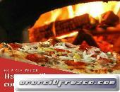 ¡Pizzas artesanales hechas en horno de barro para tu evento!