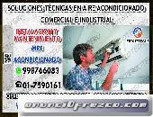 ((AIRE ACONDICIONADO)) SPLIP *7590161* MANTENIMIENTO PREVENTIVOS EN SAN MIGUEL