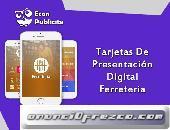 Tarjetas de Presentación Digitalpara Ferreterias s/180 Econ Publicite