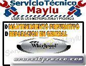 ATENDEMOS LAS 24 HORAS DE LA SEMANA Y LOS FERIADOS DE REFRIGERADORAS WHIRPOOL EN SAN MIGUEL 01-48045