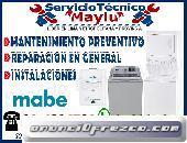 INSTALACION// DE REPARACION DE LAVADORAS MABE EN HUAYCAN 01-4804581