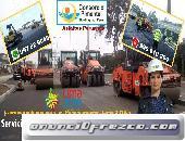 Colocación asfalto en Caliente, RC 250, Imprimaciones MC 30 Reparación de Pistas Perú 2019