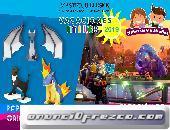 Vacaciones Utiles para niños 2019: Creación de Video Juegos 3D y Origami 3D