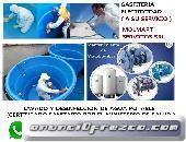 Limpieza de tanques y cisternas de agua