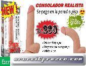 Sexshop Breña Consolador Realista con Chupon