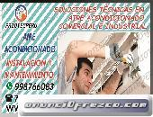 «RAPIDOS!!»Reparacion»Aire Acondicionado«YORK-CARRIER«7590161-San Luis