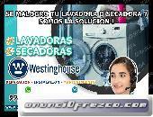 TECNICOS DE LAVADORAS –SECADORAS WESTINGHOUSE 998722262 JESUS MARIA