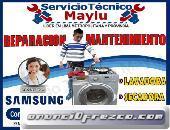 OFRECEMOS SERVICIOS TECNICO GARANTIZADO PREVENTIVO  SAMSUNG DE LAVADORA Y REFRIGERADORA EN ATE VITAR
