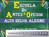 Escuela de Artes Y Oficios en Alto Selva Alegre