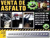 venta de asfalto rc -250 asfalto frio x sacos