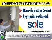 REPARACION Y MANTENIMIENTO DE TERMA SOLE A GAS