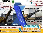 Fresado Vial Imprimaciones MC 30 Asfaltado y Pavimentaciones Perú 2020