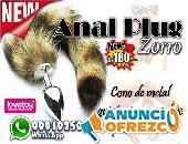 Anal Plug Cola Zorro / Sexshop Miraflores