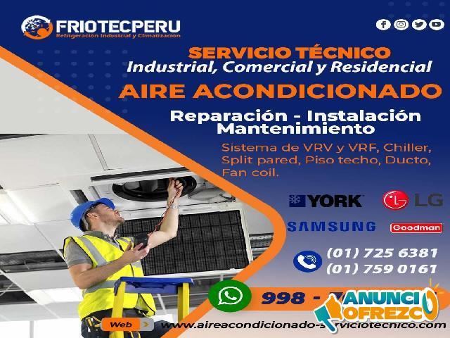 ¡Resuelve! [(Reparación AIRE ACONDICIONADO)]998766083. Surquillo