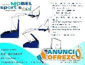 TABLERO DE BASQUETBOL PROFESIONAL PLEGABLE - MOBEL SPORTS