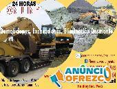 Excavadora s/Ruedas ó sobre Orugas con Martillo Demoledor Perú 2021