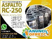 ASFALTO RC250 EMULSION CATIONICA LENTA /RAPIDA