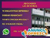 abogados penalistas 24 horas