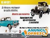 RESTAURACION DE AUTOS CLÁSICOS