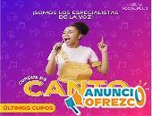 CURSOS DE CANTO ONLINE